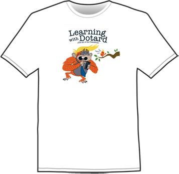 Learning with Dotard Shirt